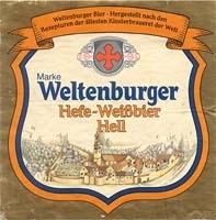 Weltenburger Hefeweizen Hell Beer