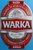 Warka Beer beer