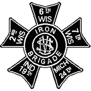 Iron Brigade Stout beer Label Full Size