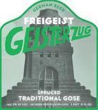 Freigeist Geisterzug Spruced Gose Beer