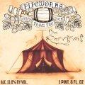 Pipeworks Barrel Aged Elijah's Revival beer Label Full Size