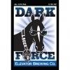Elevator Dark Force Lager beer