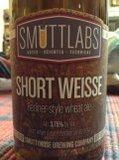 Smuttynose Smuttlabs Short Weisse Berliner Weisse Beer