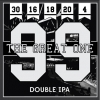 Four Sons The Great One beer Label Full Size