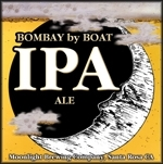 Moonlight Bombay by Boat IPA beer Label Full Size