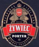 Zywiec Porter beer