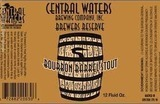 Central Waters Brewers Reserve Bourbon Barrel Stout 2015 beer