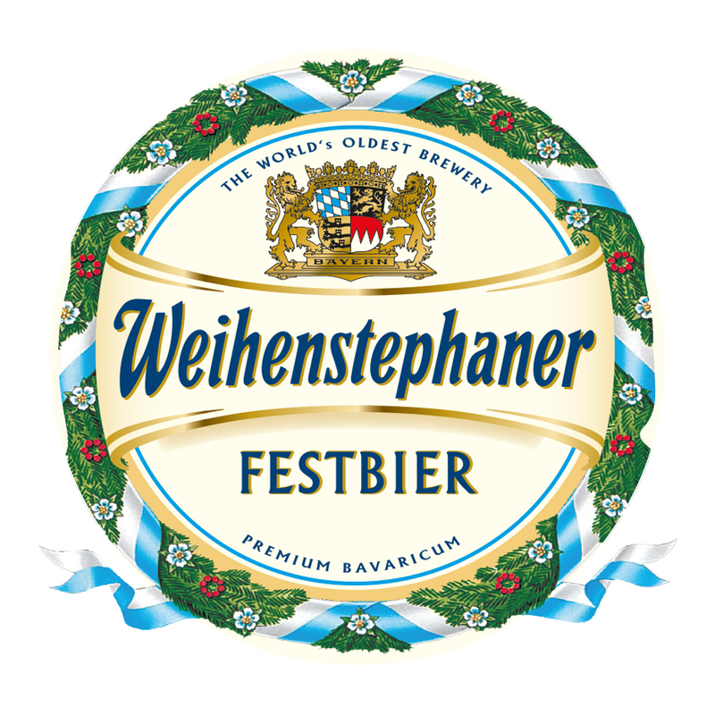 Weihenstephaner Festbier beer Label Full Size