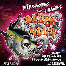 Pipeworks Black Tuna beer Label Full Size
