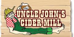 Uncle John's Cider Rose beer Label Full Size