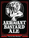 Arrogant Bastard Ale Dry Hopped Beer