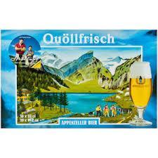 Appenzeller Quollfrisch beer Label Full Size