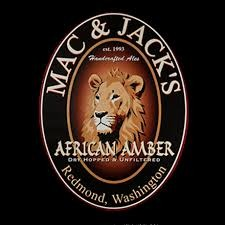 Mac n Jack African Amber beer Label Full Size