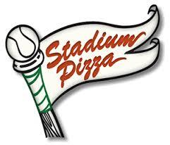Stadium Pizza Wrist Shot Red beer Label Full Size