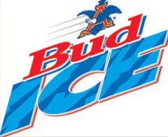 Bud Ice beer Label Full Size