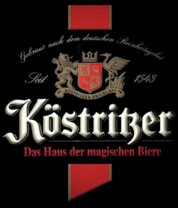 Köstritzer Schwarzbier beer Label Full Size