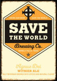 Save The World Agnus Dei Witbier beer