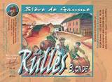 La Rulles Blonde beer