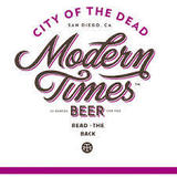 Modern Times City of the Dead Beer