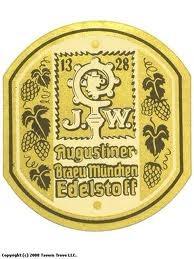 Augustiner Edelstoff beer Label Full Size