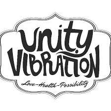 Unity Vibration Bourbon Peach beer Label Full Size