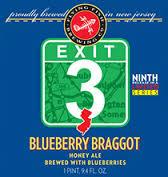 Flying Fish Exit 3 Blueberry Braggot beer Label Full Size