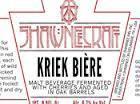 ShawneeCraft Kriek Biere beer