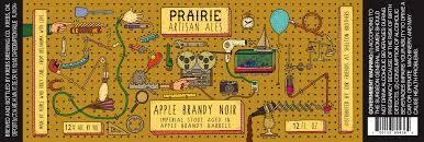 Prairie Artisan Apple Brandy Barrel Noir beer Label Full Size