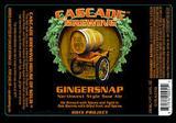 Cascade Gingersnap beer
