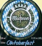 Warsteiner Oktoberfest Beer