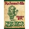 Rochester Mills Newton's ALEchemy beer Label Full Size