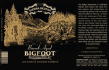Sierra Nevada Barrel-Aged Bigfoot Beer