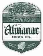 Almanac Valencia Gold beer Label Full Size