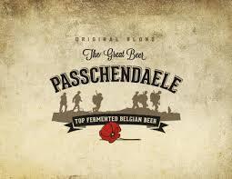 Van Honsebrouck Passchendaele beer Label Full Size