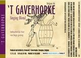 't Gaverhopke Singing Blond beer