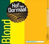 Hof Ten Dormaal Blond Beer