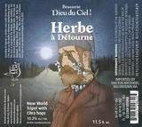 Brasserie Dieu du Ciel L'Herbe beer