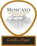 Castello Del Poggio Moscato wine