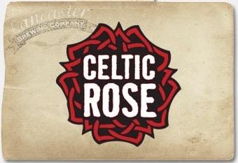 Lancaster Celtic Rose beer Label Full Size