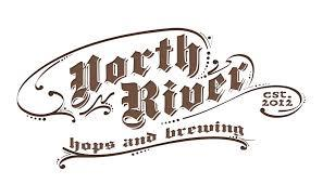 North River East IPA beer Label Full Size
