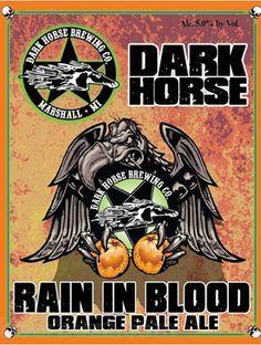 Dark Horse Rain in Blood Beer