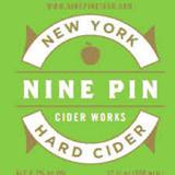 Nine Pin Raspberry Cider beer