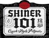 Shiner 101 Pilsner beer