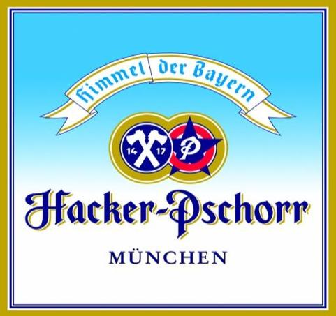 Hacker Pschorr Oktoberfest beer Label Full Size