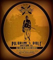 New Holland Pilgrim's Dole 2014 beer Label Full Size