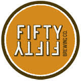 FiftyFifty Eclipse Stout - Evan Williams (Black Wax) 2013 beer Label Full Size