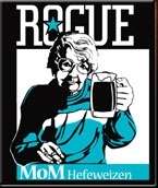 Rogue Mom Hefeweizen beer Label Full Size