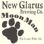 New Glarus Moon Man beer Label Full Size