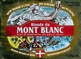 Du Mont Blanc Blonde beer