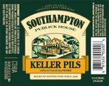 Southampton Keller Pils beer